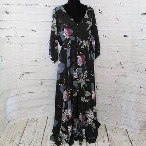 City Chic Boho Blossom Maxi Dress